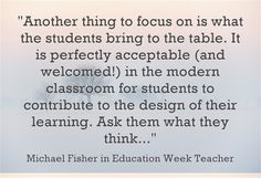 What is the best way to scaffold lessons for teachers adapting to technology and common core changes? Mike Fisher provides his response on Education Week,