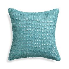 "Lanzo Aqua 18"" Pillow  