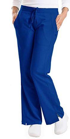 Scrub Pants scrubs Medium Blue Draw String Waist Medical Dental disposable 10