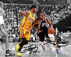 For Sale - Kevin Durant Paul George OKC Indiana Pacers Signed Photo Autograph Reprint - http://sprtz.us/PacersEBay