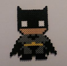 Perler Bead Batman by NerdyCompanions