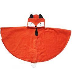 cape-de-bain-enfant-bebe-bain-chaud-coton-fox-renard-personnalisable-cadeau-naissance