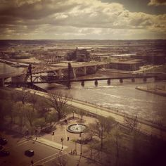 Twin cities... St.Paul and Minneapolis!