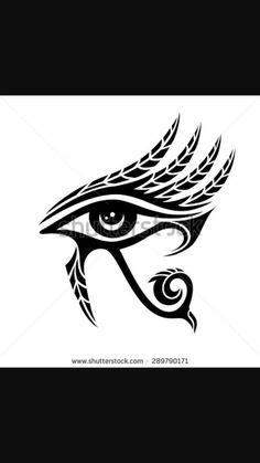 Kuvahaun tulos haulle eye of horus tattoo Egyptian Symbols, Ancient Symbols, Egyptian Art, Ancient Egypt, Egyptian Mythology, Egyptian Goddess, Ancient Art, Ancient History, Eye Of Ra Tattoo