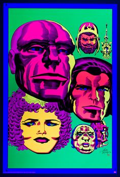 We were proud to screen print six of Heavy Metal Magazine's fourteen highly sought after LORD OF LIGHT blacklight poster series from the king himself, Jack Kirby! Colored for the first time by Mark Englert, these are the pieces were originally drawn …