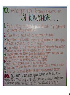 ShowChoir Rules