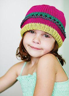 Amanda's spring hat..so cute