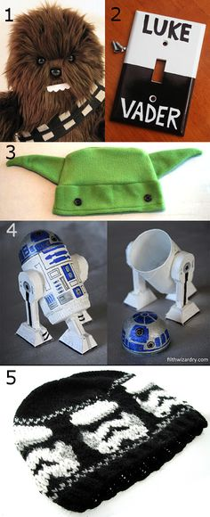 May 4th Star Wars Crafts Roundup.