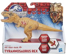 Jurassic World — Basher T-Rex Action Figure