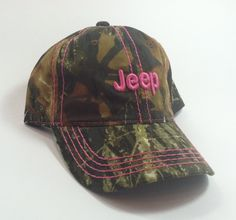 Jeep Girl Camo Cap - California Jeep Authority - Jeep Gifts, Shirts, Toys and Accessories