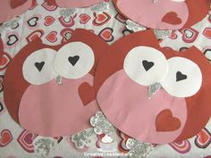 First Grade Gallery- Lessons for Little Learners: Valentine Owls and a Giveaway