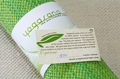 Eco-sustainable. High quality. Good karma. Spring mat shown. #yogasanamats
