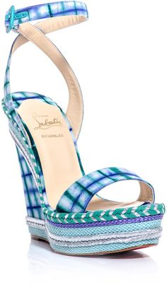Christian Louboutin Duplice Wedge Sandals  Just ordered these!!! Super excited -C.S.