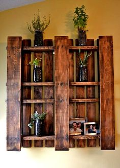 Pallet shelf! Just got my pallet today! Making it this week :)