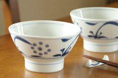 砥部焼・梅山窯 太陽の茶碗(大)