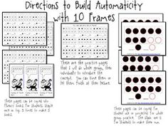 Mrs. Miner's   Automaticity with 10 frames
