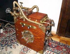 Steampunk Computer  love it !  I want this one!!!