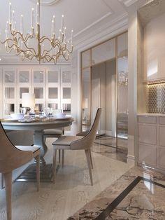 New Kitchen Interior Architecture Home Ideas Luxury Interior Design, Interior Architecture, New Kitchen Interior, Modern Classic Interior, Esstisch Design, Dining Room Design, Apartment Design, Luxury Living, Luxury Homes