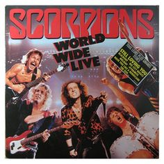 World Wide Live – Scorpions  #vinyls #scorpions
