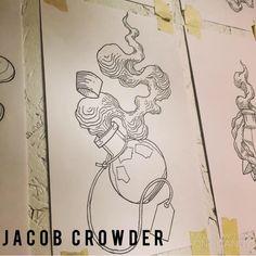 Potion bottle tattoo by Jacob crowder #lineworktattoo #tattoosketch #Tattoo #sketch #linework #art #illustration #617tattoo #jacobcrowder #Jacobcrowderart #jacobcrowdertattoo #bozemantattoo #livingstontattoo