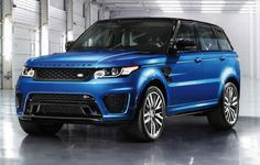 New 550-hp Range Rover Sport SVR is Fastest Rover Yet