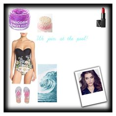 """""""Pool Party!"""" by harleyfearless ❤ liked on Polyvore featuring Ted Baker, FCTRY, NARS Cosmetics, Aéropostale and PBteen"""