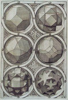 speciesbarocus:    Jost Amman - Sechs Oktaeder (1568).