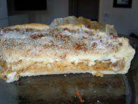 TOP 1 jablečný koláč s pudinkem a posypkou VYZKOUŠEJTE!