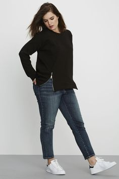 Universal standard plus size jeans ControversyNYC - Outfit.GQ - Plus Size Plus Size Jeans, Look Plus Size, Plus Size Casual, Curvy Outfits, Outfits For Teens, Casual Outfits, Size 10 Outfits, Fashion Outfits, Womens Fashion