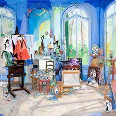Picasso's Studio at Villa La Californie in Cannes Raoul Dufy, Pablo Picasso, Art Inspo, Studios D'art, Art Folder, Ouvrages D'art, Painting Studio, Art Et Illustration, Paintings I Love