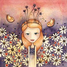 Róth Anikó Everyday Objects, Ankara, Good Morning, Folk Art, Princess Zelda, Illustration, Painting, Fictional Characters, Beautiful