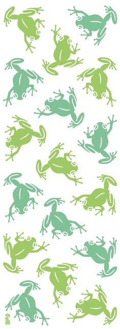 Japanese washcloth, Tenugui カエル frogs