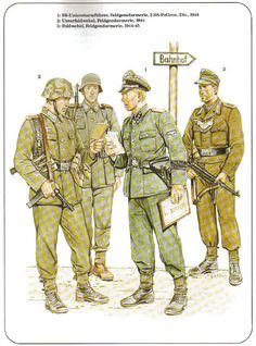 German Military Police.