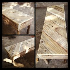 pallet bench and other great ideas