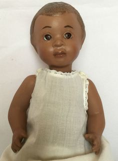 Vintage Handmade Black Americana All Porcelain Doll in Collectibles   eBay