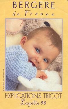 Album sous forme d& Knitting Books, Knitting For Kids, Baby Knitting, Free Baby Blanket Patterns, Baby Girl Patterns, Knitting Magazine, Crochet Magazine, Men And Babies, Creative Knitting