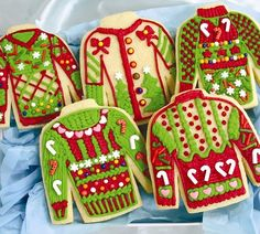 Thurs., Dec. 8th 6:30 pm Ugly Sweater Cookie Program & Contest with It's a Sweet Treat Day Bakery Space limited; register with the library.  Super fun! Open to adults or mature teenagers.