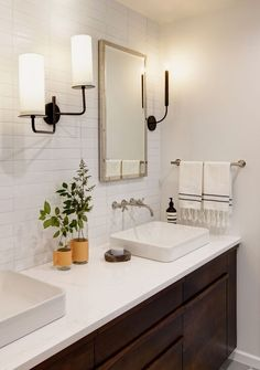 No walls were hurt in the making of this wildly gorgeous master bath.