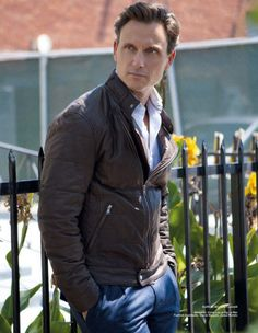 Scandal. Not my typical kind if eye candy, but he's just got something...YUMMY!!!