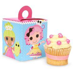 Lalaloopsy Cupcake Boxes from BirthdayExpress.com