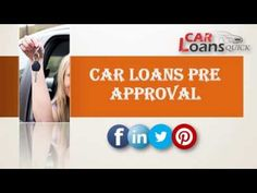 pre approved car loan with bad credit