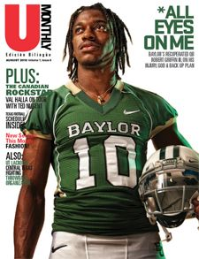 RG3... Robert Griffin III put Baylor on the map. He continues to excel by putting himself on the map at the 2012 NFL Scouting Combine after running the fastest 40-yd dash in 4.41 seconds. Excited to see him play in the NFL!