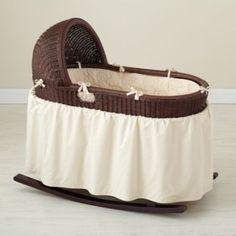 Baby Saige's bassinet <3