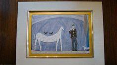 $5.99  MAN Birds DOG Fine ART Greeting Card Horse AND Violinist BY Paula Mcardle | eBay #holiday #stationary #greetingcard