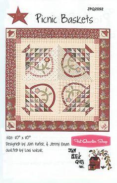 Piknik baskets by Jan Patek.  Great scrappy pattern.