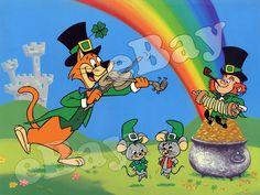 Rare PIXIE & DIXIE ST PATRICKS DAY Cartoon Photo HANNA BARBERA Huckleberry Hound    eBay