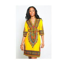 Dashiki dress dashiki fabric African clothing African by TrueFond