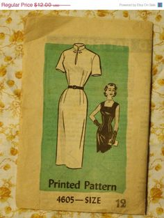 Summer Sewing Sale Mail Order 4605 1950s by EleanorMeriwether