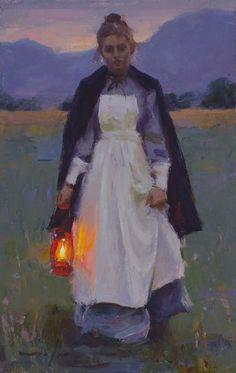 Michael Malm Lamp Light oil on panel Malm, Figure Painting, Painting & Drawing, Portrait Art, Portraits, Renaissance Kunst, Figurative Kunst, Mystique, Classical Art