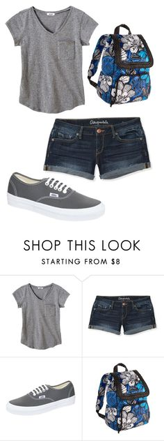 """""""Vera"""" by bri-peace ❤ liked on Polyvore featuring Aéropostale, Vans and Vera Bradley"""